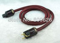 Audiocrast European HIFI SCHUKO AC Power Cord with P-079E+C-079 gold plated power plug