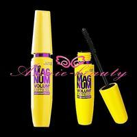 2PCS/LOT Brand makeup High quality the magnum volum express smudgeproof mascara black free shipping