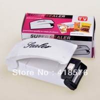 free shipping cheap sale 2013 novelty household items Mini sealing machine Household sealing machine Excluding battery