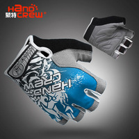 2013 New Style Cool outdoor cycling bike bicycle Sports Half FInger Glove Blue