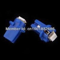 Free shipping 10x T5 B8.3D Car Gauge 5050 1SMD LED Speedo Dashboard Dash Side Light Bulb White