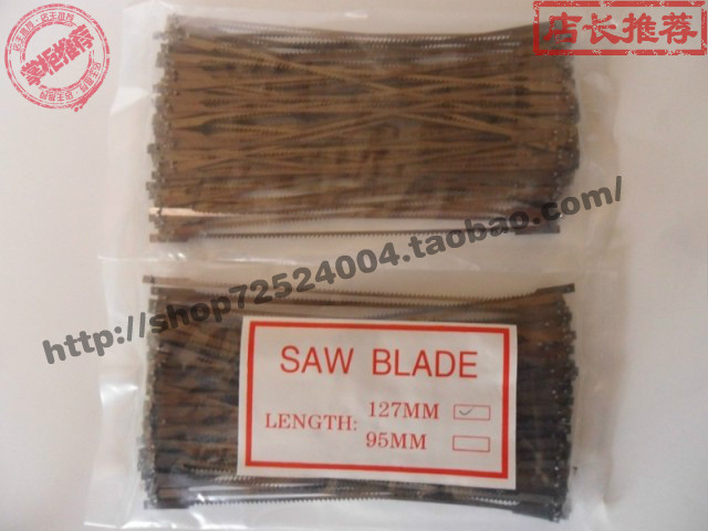 Material 127mm gypsum saw blade 100 packing ultra hard gypsum bow saws(China (Mainland))