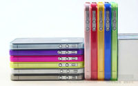 0.2mm Ultra Thin Flexible Bumpers Frame Case for iphone 5 , Wholesale 50pcs/lot