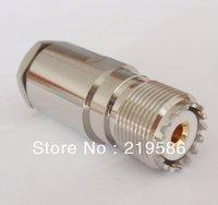 UHF female straight clamp RG8 RG165 213 LMR400 connector