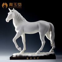Horse ceramic art decoration xinbu d07-06