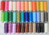 Spun polyester 400Y/pcs 60S/2 overlock sewing thread elastic fabric special thread silk thread 10 spools/lot