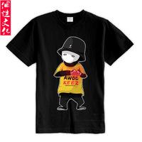 Jabbawockeez short-sleeve T-shirt hiphop hip-hop clothing clothes male