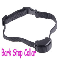 Effictive Vibration Auto Anti-Bark Dog Training Collar Bark Control Shock bark Stop Collar,Freeshipping dropshipping