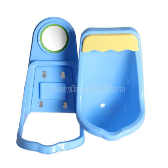 Children Potty Toilet Training Kids Urinal Plastic for Boys Pee 4 Suction NI5L(China (Mainland))