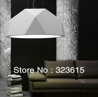 Modern Creative Personality Rhombohedral Resin Glass Fabbian Pendant Light Dia 40*25cm