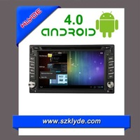 Android 4.0 Car DVD for 2din Fixed panel car DVD