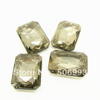 Free Shipping 2014 Hot Sale  20pcs/lot  23*33mm Fashion square shape Man-made Crystal  Pendant HB707 jewelry crystal charms