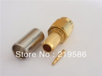 SMA Crimp Plug(female pin) connector for LMR195