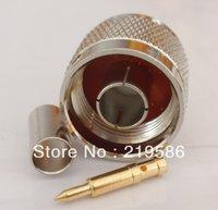 N male plug crimp RG58 RG142 LMR195 RG400 RF connector
