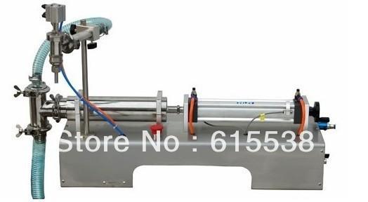 100% Warranty Liquid Filling Machine,Horizontal Liquid Filler,Milk Filling Machine 10-1000ml,Free Shipping(China (Mainland))