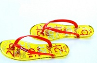 2013 jelly shoes flip flops shoes transparent herringbone shoes sandals