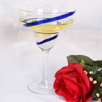 New arrival professional grade lead-free crystal cup cocktail cup wine cup wine goblet ice cream bowl