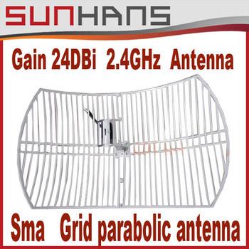 Direct Marketing Sunhans 24dBi 2.4G Outdoor Antenna Wifi Antenna Wireless Antenna Free Drop Shipping