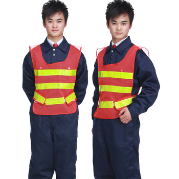 Free Shipping Nb103 high visibility jacket vest clothes safety clothes reflective vest