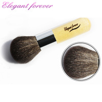 2013 Hot professional make-up tools wool short cosmetic brush loose powder brush blush brush