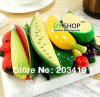 Minimum Order is $10 Vivid Fruit Fridge refrigerator icebox Magnet for Home Decor party gift kid's educational toys CN post
