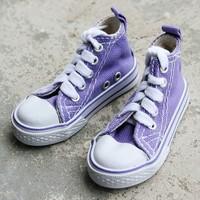 1/3 Purple Mid Cut BJD SD DZ Dollfie Doll Shoes Sneaker-8.5cm