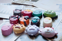 30pcs 5cm kawaii cartoon squishy