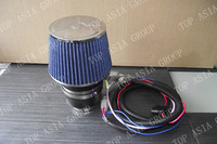 3'' 76mm Universal Electric turbocharger Intake Supercharger cold air intake kit Magic Auto Air Filter