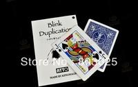 Free Shipping Novelty Magic Trick-- Blink Duplication,Fantastic Prediction Magic Trick Props, Trick For Kids