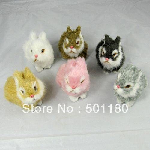 free shipping rabbit mascot easter plush rabbit easter bunny rabbit(China (Mainland))