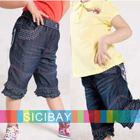 Girls Shorts Free Shipping 2014 New Fashion Pants Little Girl Summer Half Pants Child Shorts K0880