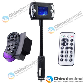 "New 1.5"" LCD Car Kit MP3 Player with Bluetooth FM Transmitter Modulator Support USB/SD/MMC/TF"