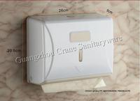 Z Fold Hand Towel Dispenser plastic tissue holder toilet facility washroom necessary wall mounted paper holder defend EBOLA