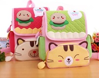 Free shipping wholesale10pcs/lot Cotton School Backpack bag Lunch Bag 19*7*29cm