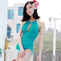 2013 trigonometric female one piece swimwear swimsuit
