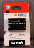 1pc sample,NP-FM500H FM500H NPFM500H digital camcorder camera Battery For SONY A300 A350 A900 A700 A700K A200 A200W A550 camera