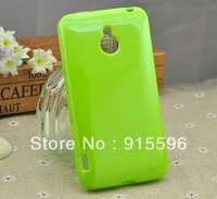 Protective Soft TPU Gel Back Case For Meizu MX Cell Phone Green Jelly Cover Free shipping