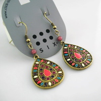 2014 New Sale Vintage Earrings for women Fashion Earrings Statement Jewelry ,Wholesale #DJ078