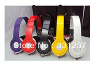 Trend mp3 mp4 earphones 3.5mm computer headset earphones folding mobile phone headphones bass