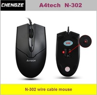 famous brand A4tech , N-302 wired needle optical mouse usb mouse