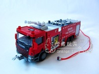 620013 alloy engineering car model alloy water pot fire truck