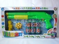 Table tennis ball soft bullet gun gift box set toy gun 13904 - 10
