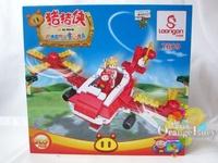 Xiaobailong blocks series of assembling building blocks toy 205 7609