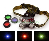 new headlight zoomable CREE Q5 LED Zoomable Headlamp Headlight Torch Flashlight by 1*18650 battery Hunting fishing