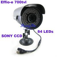 "High Resolution !Effio-e 700tvl 1/3""sony ccd 84 LEDs Night Vision security  waterproof CCTV outdoor  Camera  LU-RE-34567"