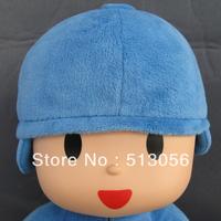 2013New Pocoyo plush soft toys 12'', 30cm Cartoon soft doll pocoyo stuffed figure toy for Kids best gift Free Shipping 20pcs/lot