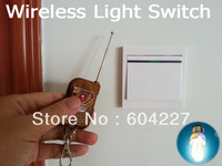 Wireless& Manual Momentary Remote Control Lights Switch Relay Outlet Wall Mount Inlay AC 110V/220V~ 250V