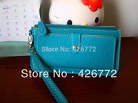 Fashion Candy Colors Ladies' PU Hand bag, Hot Sale Zipper Wallet for Women