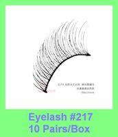 New 10 Pair Thick Long False Eyelashes Eyelash Eye Lashes extensions synthetic Voluminous Makeup free shipping dropshipping