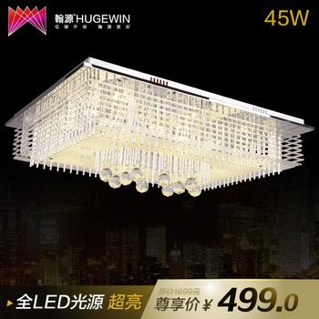 T led crystal lamp modern led ceiling light super bright 30w 45w